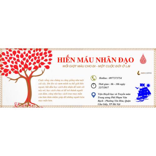 RAINCOFFEE tổ chức ngày hội hiến máu nhân đạo